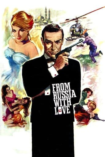 James Bond 007 From Russia with Love (1963) เพชฌฆาต 007
